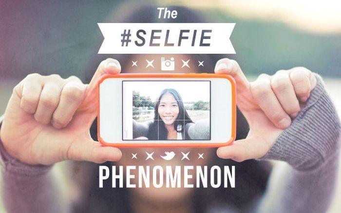 The #selfie Phenomenon (infographic)