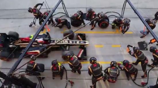 Amazing Pit Stop Speed