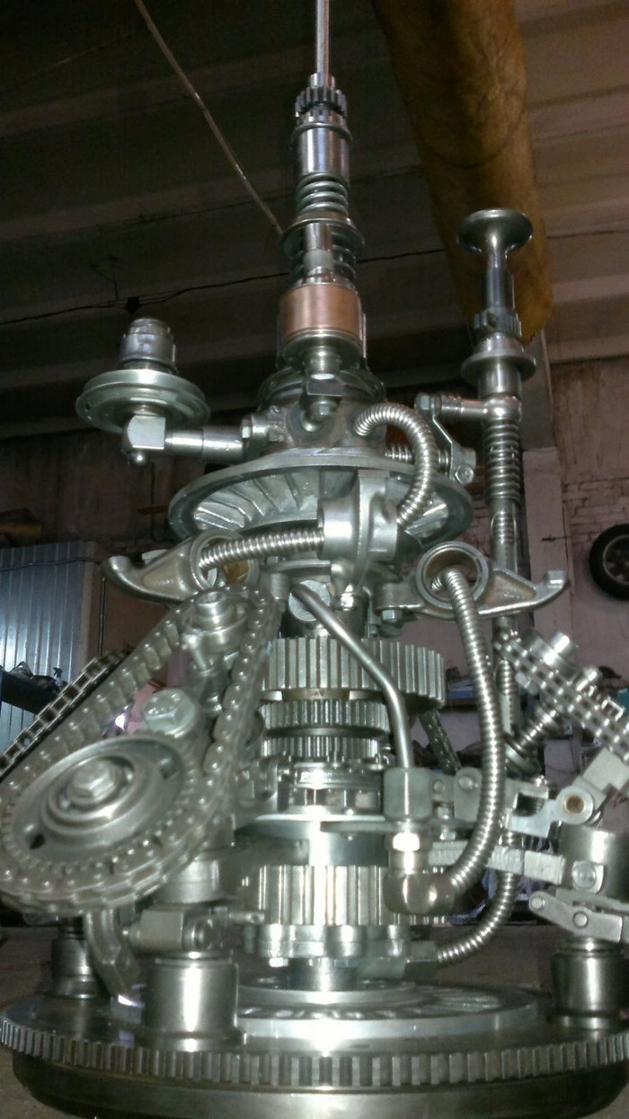 Steampunk Gadgets Made Out of Auto Parts (9 pics)