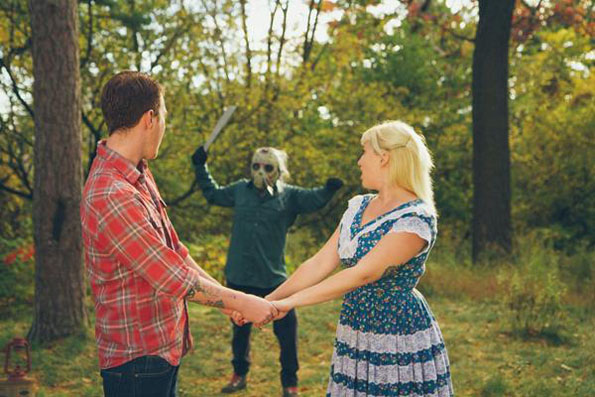Friday the 13th Engagement Shoot (15 pics)