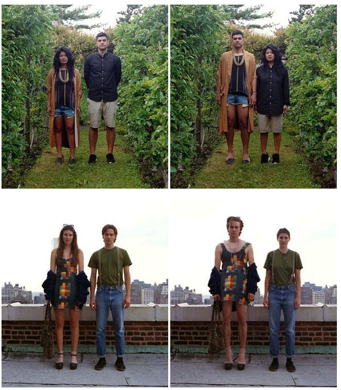 Clothes Switching (13 pics)