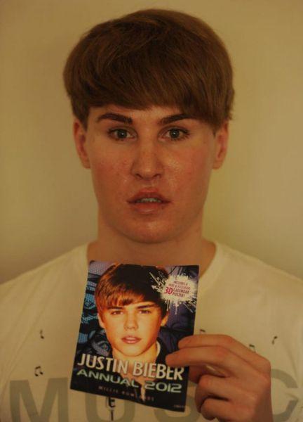 Justin Bieber's Fan (9 pics)