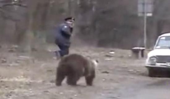 Fearless Russian People vs Wild Bears
