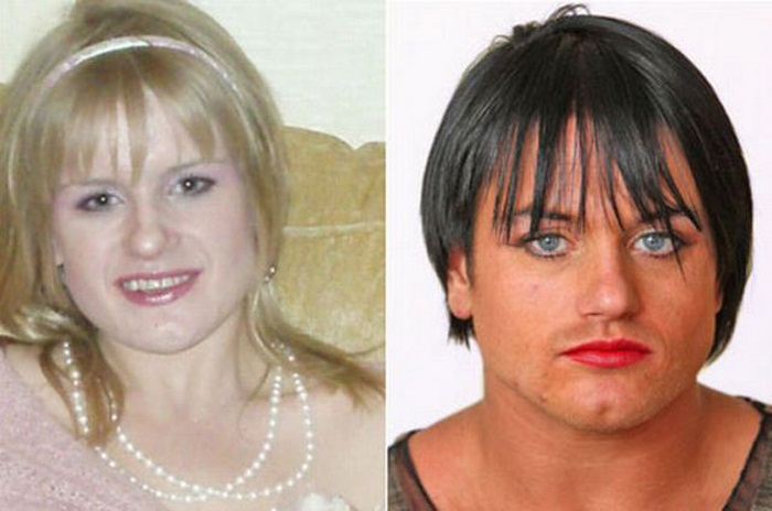 Transformation of a Girl (12 pics)