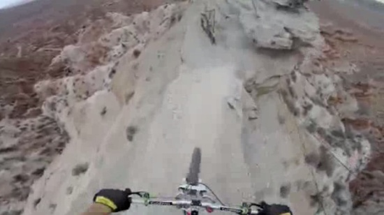 Amazing Mountain Bike Backflip Over 72 ft Gap