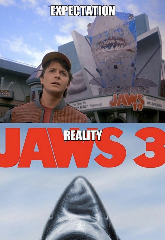 Back to the Future Predictions vs the Reality (13 pics)