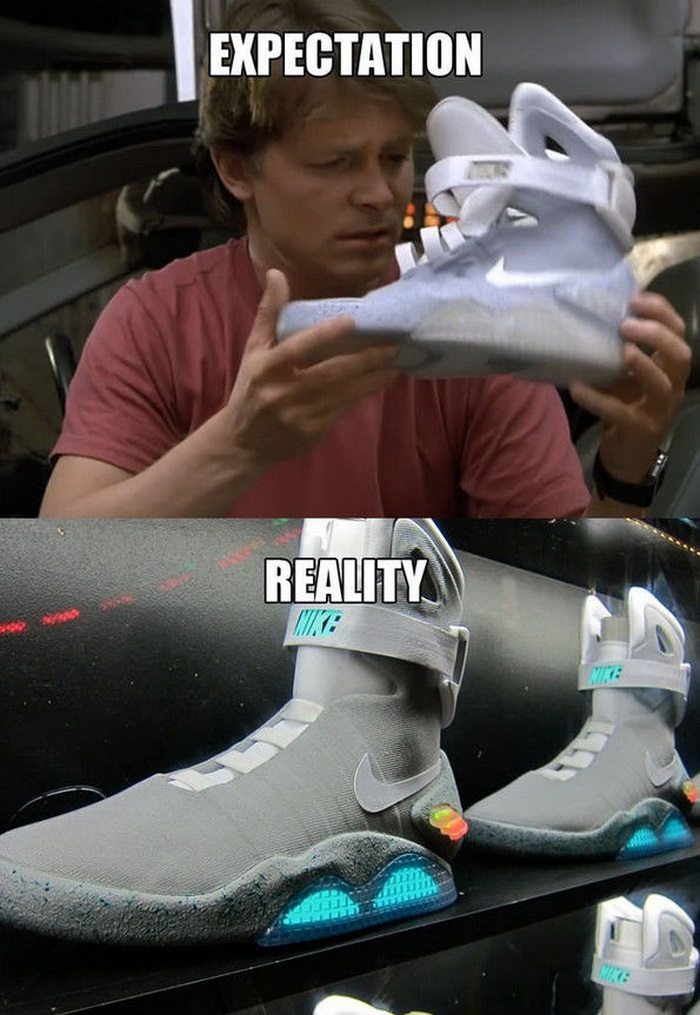 Back to the Future Predictions vs the Reality (13 pics)