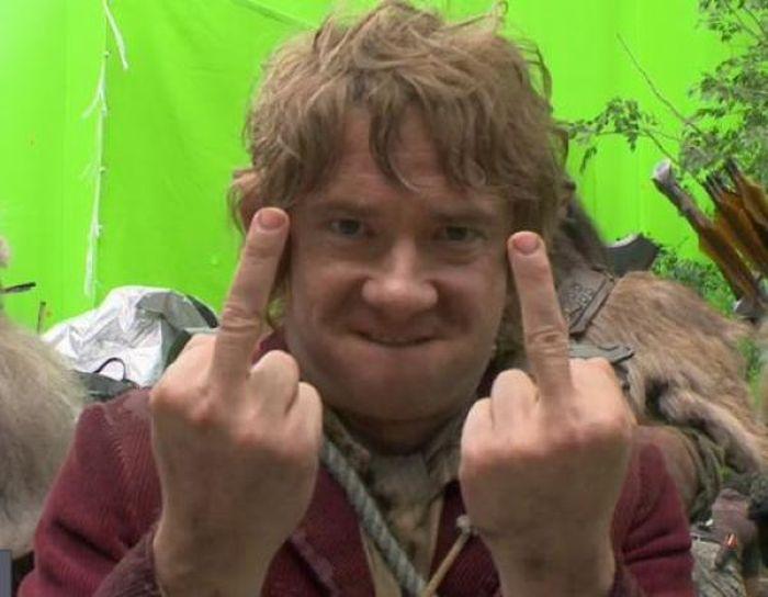 Martin Freeman's Middle Finger (20 pics)