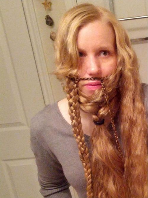 From a Girl into a Bearded Gnome (12 pics)