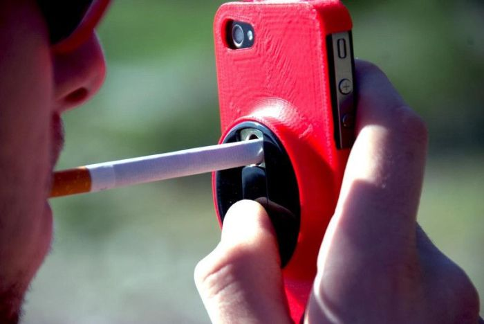 iPhone Case for Smokers (4 pics)
