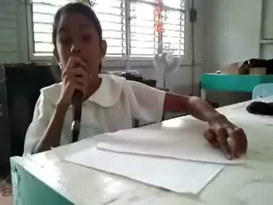 Talented Blind Girl Singing Skills