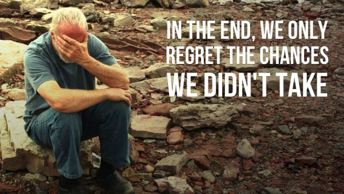 Things People Regret the Most Before They Die (20 pics)