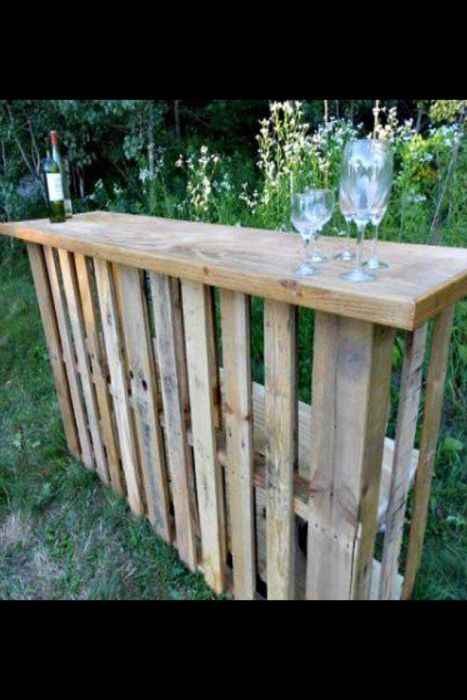 DIY Furniture Out of Old Pallets (98 pics)