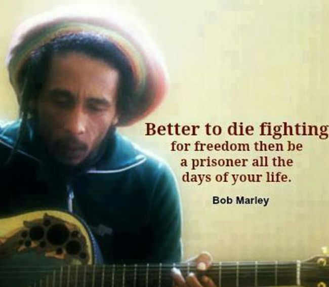 Love Quotes About Life: Stuff To Get Inspired: Bob Marley's Top 63 Famous