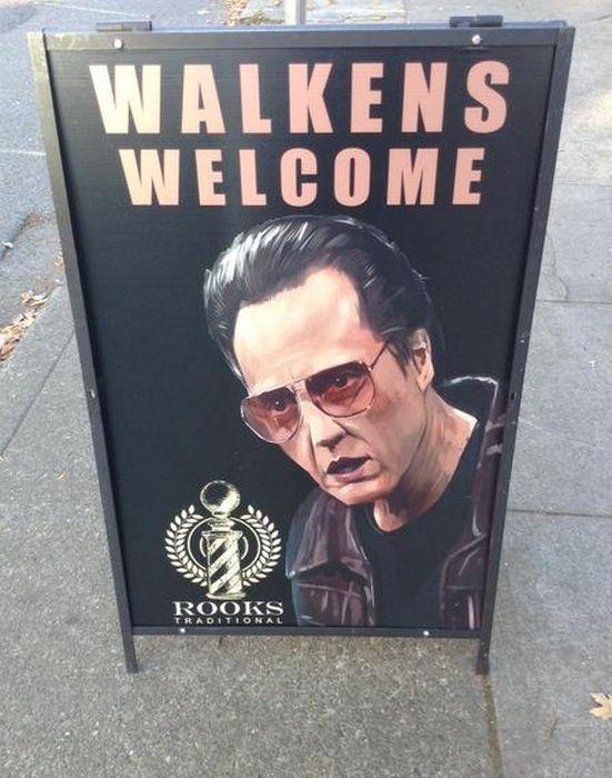 Hilarious Sidewalk Signs (20 pics)