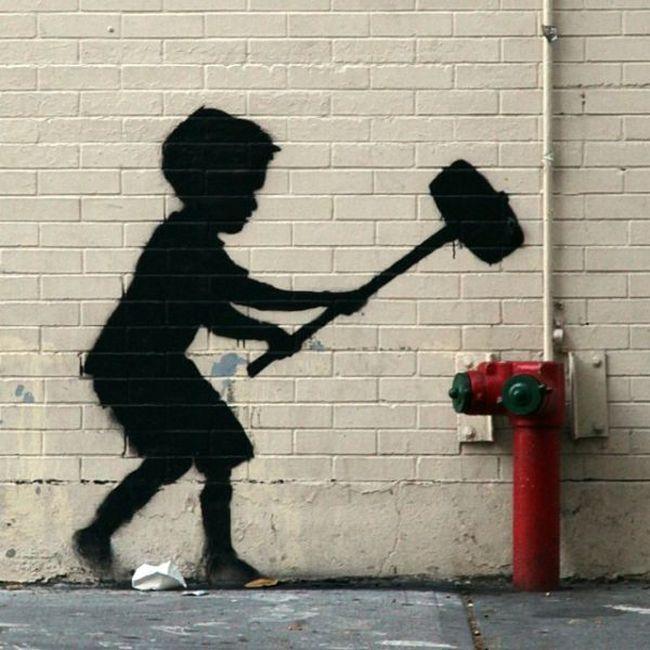 Banksy Visits New York (21 pics)