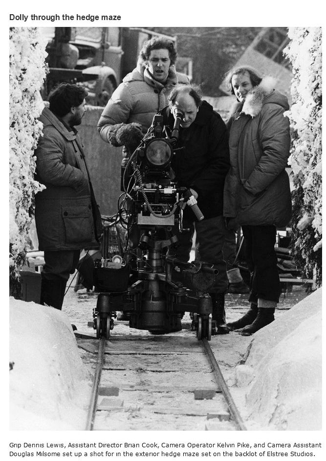 "The Making of ""The Shining"" (41 pics)"