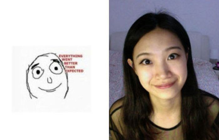 Girl Making Meme Faces (26 pics)