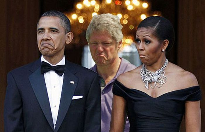 Displeased Bill Clinton Meme (31 pics)
