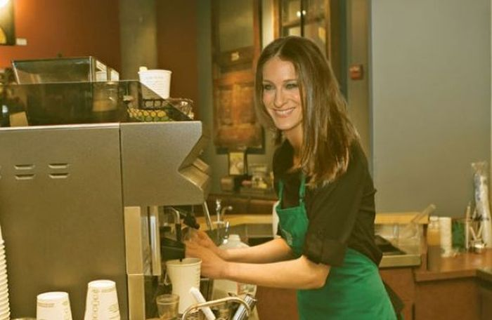 If Celebrities Had a Normal Job (20 pics)