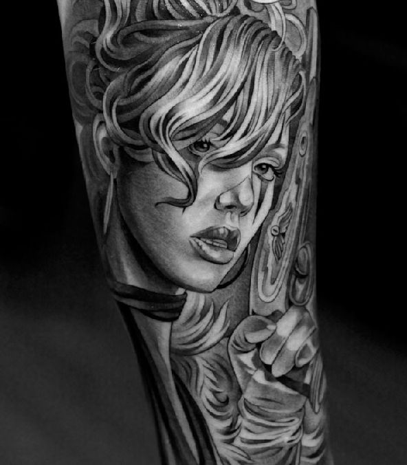 Amazing Tattoos by Jun Cha (26 pics)