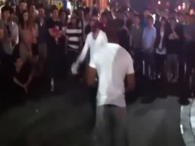 Boxing in the Street