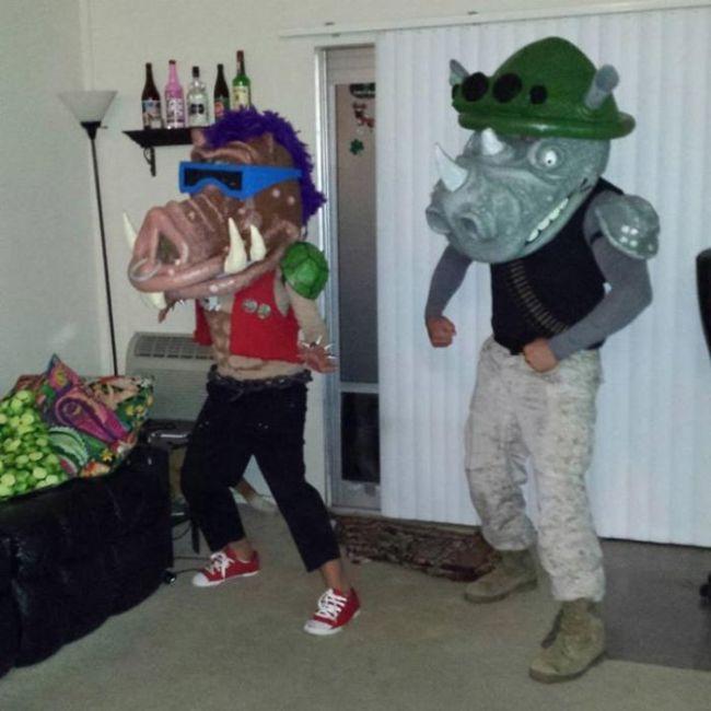 DIY Halloween Costumes (29 pics)