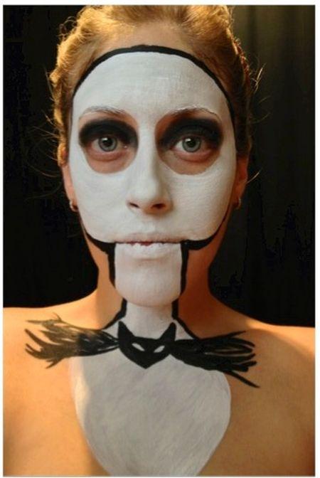 Jack Skellington Makeup (6 pics)