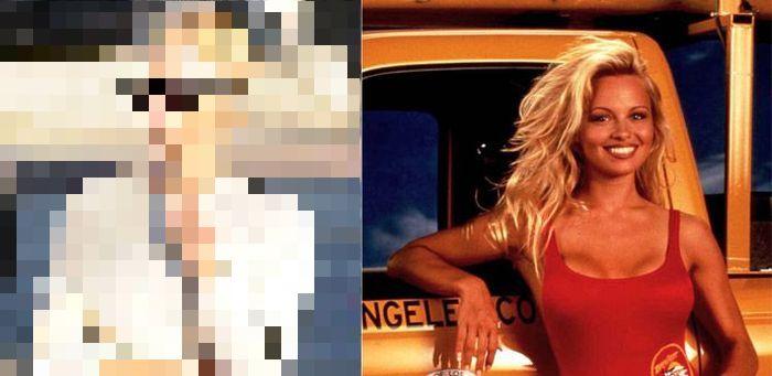 Pamela Anderson Looks Different (5 pics)