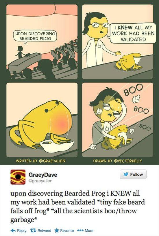 Twitter: The Comic (21 pics)