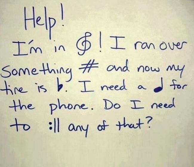 Funny Pictures About Music (20 pics)