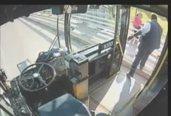 Bus Driver Saves Girl From Suicide