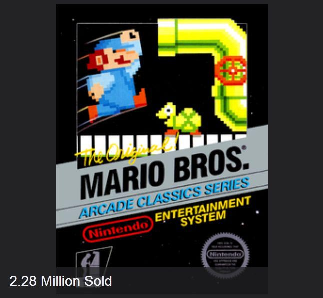 The Best Selling NES Games (30 pics)