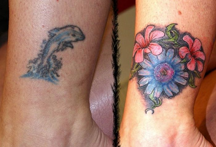 The Best Cover-up Tattoos (20 pics)