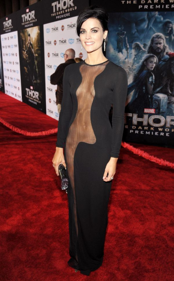 Jaimie Alexander Wears Nothing Under Her Dress (11 pics)
