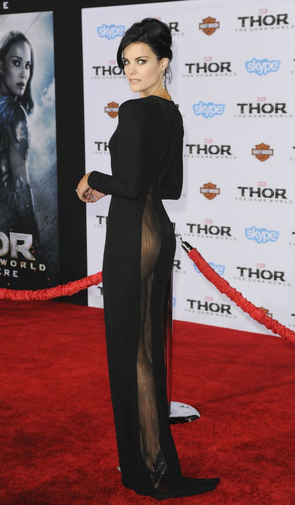 Jaimie Alexander Wears Nothing Under Her Dress (11 pics)