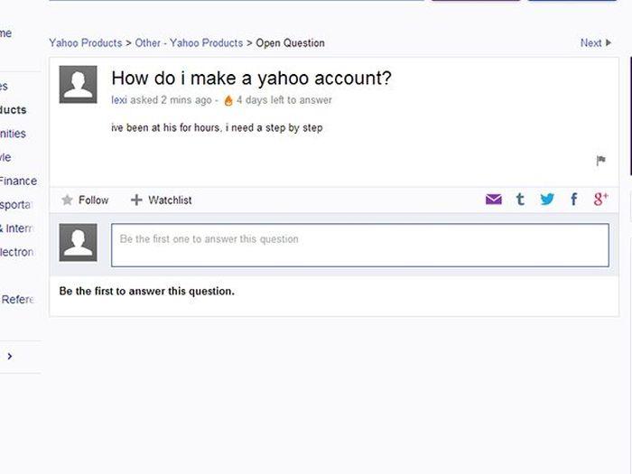 Yahoo Answer Fails (18 pics)