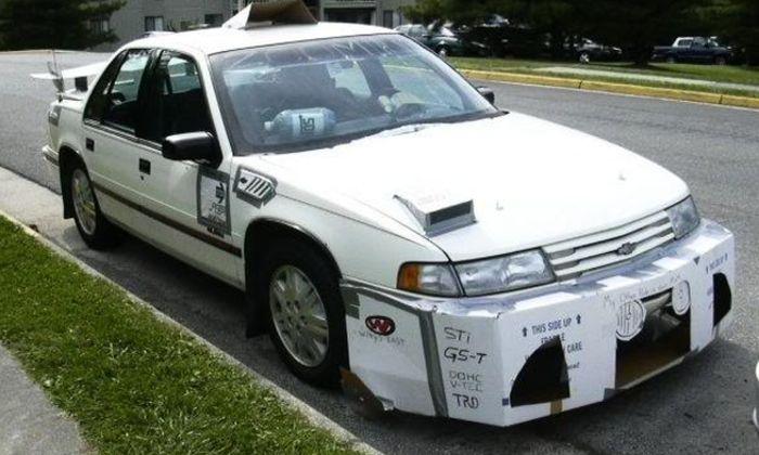 Really Bad Custom Cars (41 pics)
