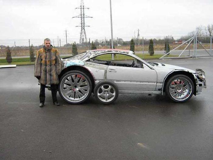 Really bad custom cars 41 pics - Mercedes benz garage london ...