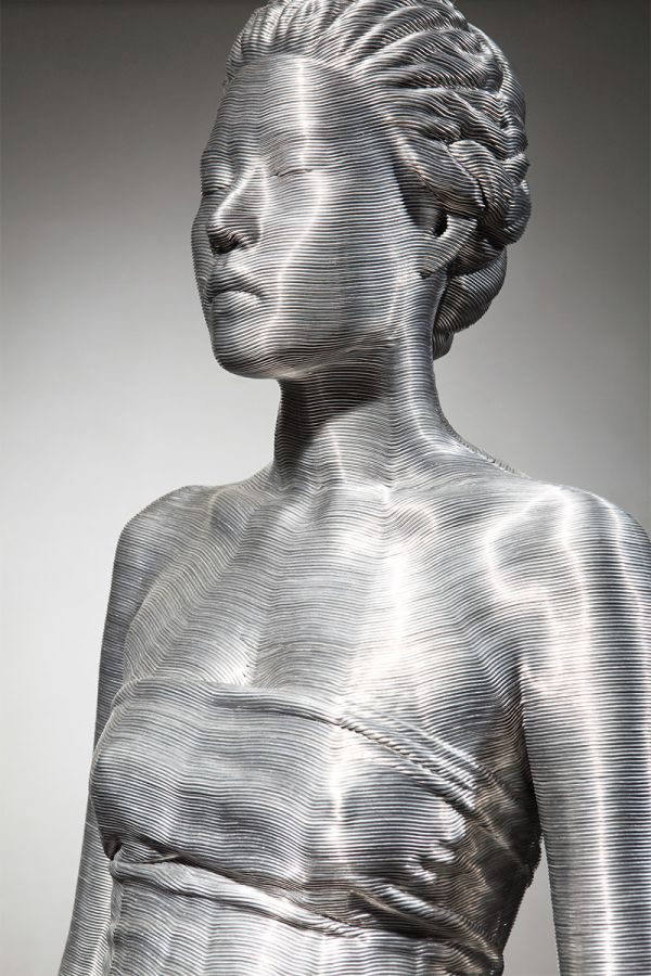 Aluminum Wire Sculptures by Seung Mo Park (9 pics)