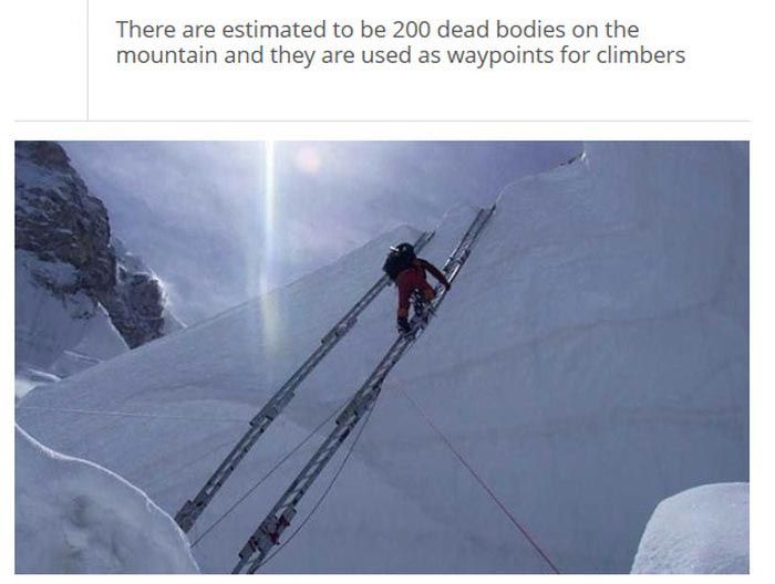 Facts about Mount Everest (25 pics)