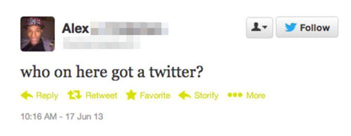 Stupid Twitter Questions (19 pics)