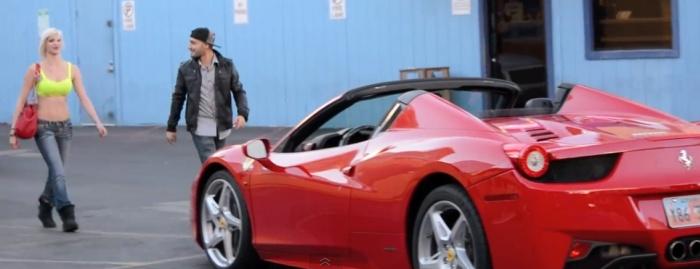 Girls Will Do Everything for a Guy on Ferrari 458 Italia