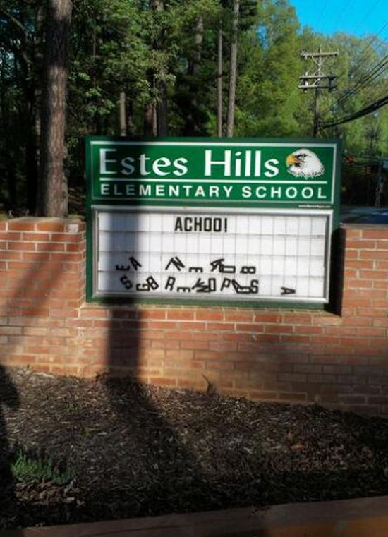 Funny Things That Happened at School (21 pics)