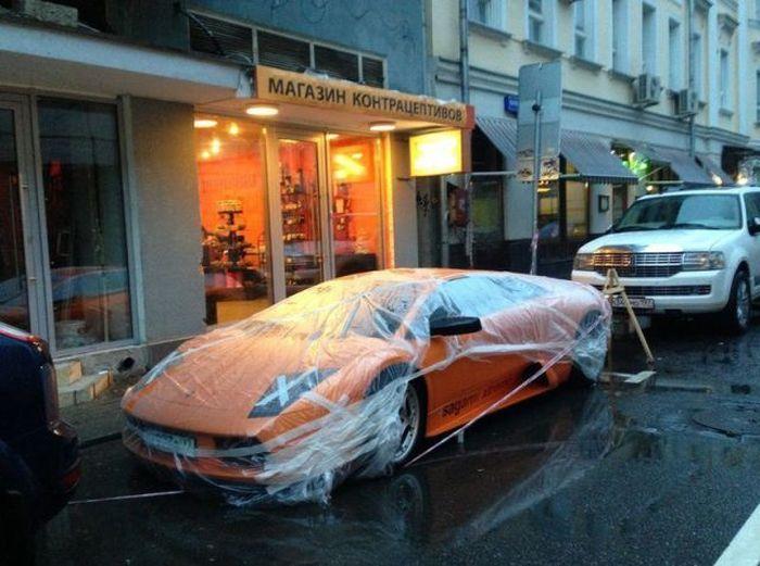 Funny Car-Themed Photos. Part 7 (54 pics)