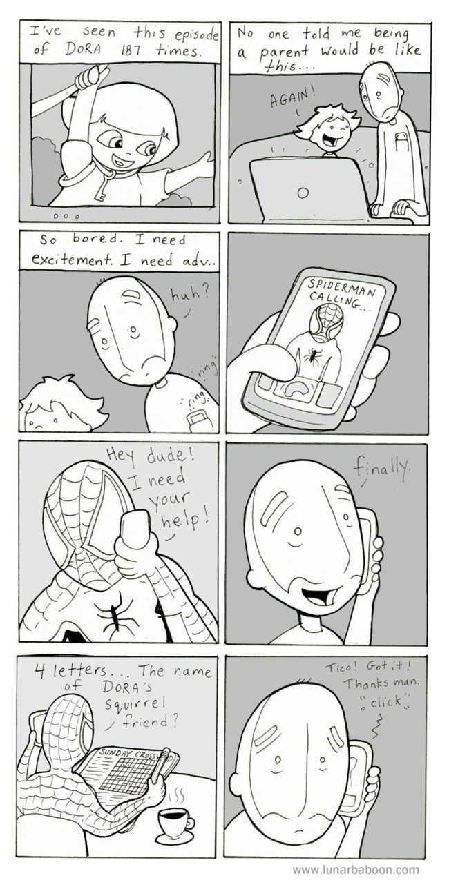 Lunarbaboon Comix (30 pics)