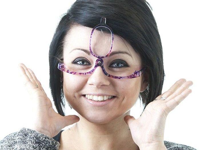Makeup Glasses (3 pics)
