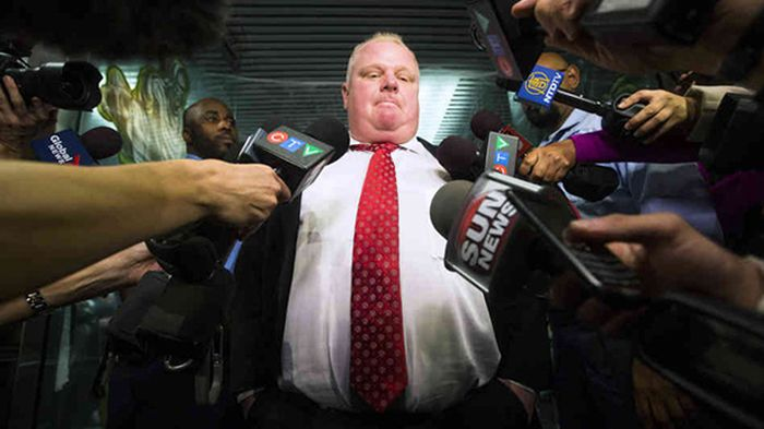 Toronto's Crackhead Mayor Rob Ford (29 pics)