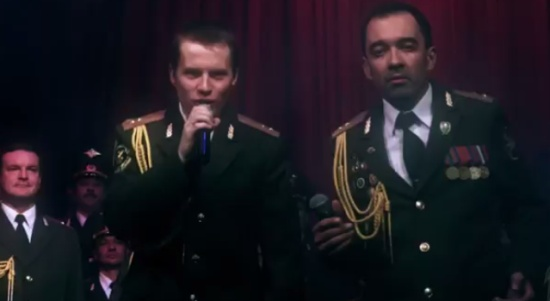 Russian Police Choir Singing 'Get Lucky'