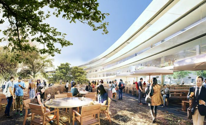 Apple's New Headquarters (27 pics)